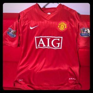 Ronaldo Soccer Nike AIG Jersey 06-07